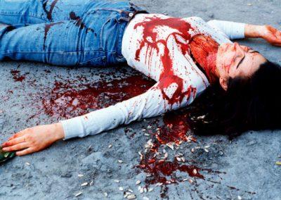 Sangre en la calle
