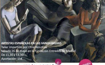 26/05/18 ARTISTAS ESPAÑOLAS EN LAS VANGUARDIAS
