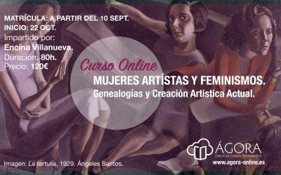 Curso online 'Mujeres artistas y feminismos. Genealogías y creación artística actual'
