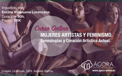 CURSO ONLINE SOBRE ARTE Y FEMINISMO. ¡TERCERA EDICIÓN!