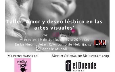 19/06/19 'Amor y deseo lésbico en las artes visuales'