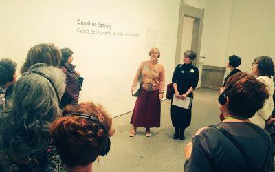 DOROTHEA TANNING LLEGÓ POR SORPRESA. Recordando su exposición en Madrid