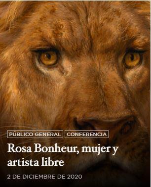 2/12/20 'Rosa Bonheur. Mujer artista y libre', por Encina Villanueva