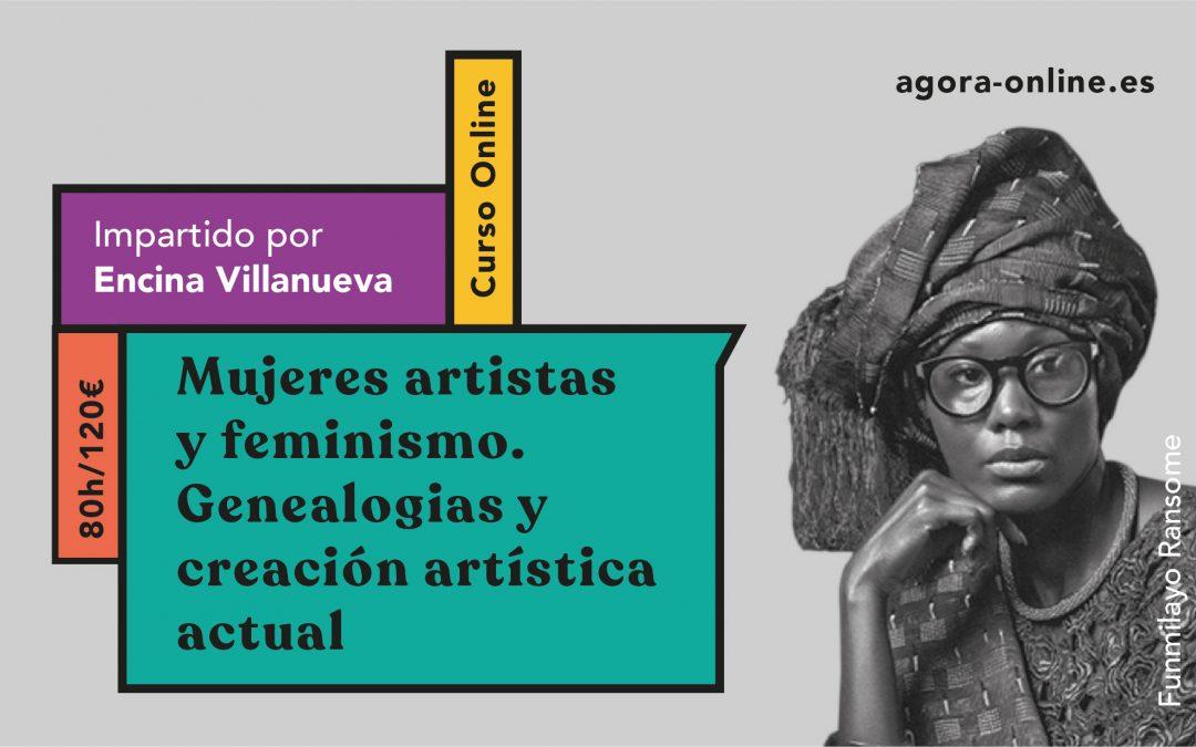 NUEVA EDICIÓN DEL CURSO ONLINE 'MUJERES ARTISTAS Y FEMINISMO'