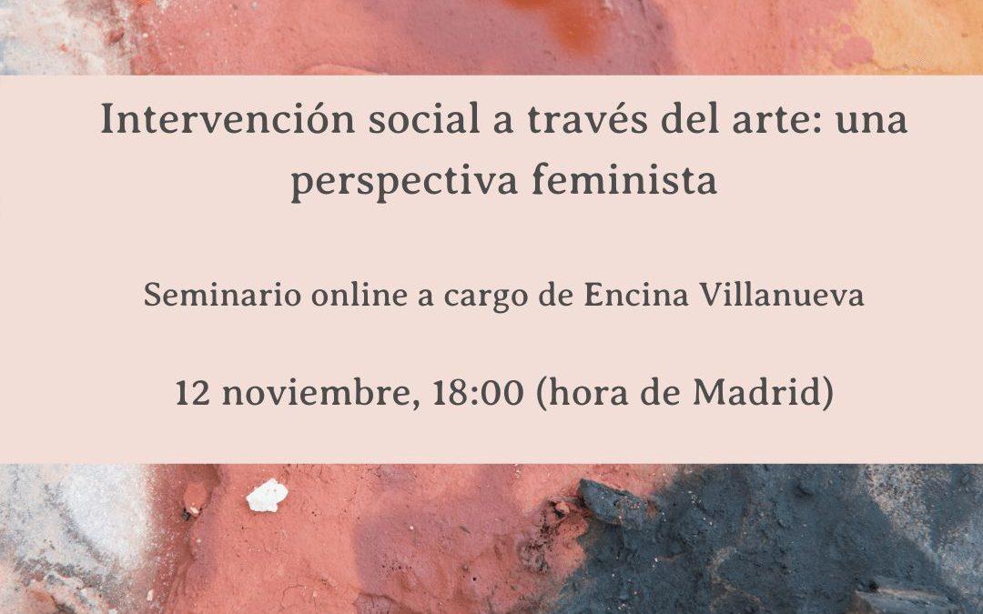 Intervención social a través del arte. Una perspectiva feminista